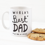"кружка ""World's best DAD"""